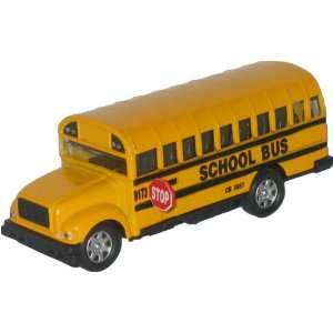 Toy School Bus with Working Stop Sign Toys & Games