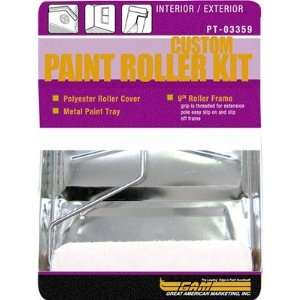 Gam Paint Brushes PT03359 3 Piece Paint Roller Kit Home Improvement