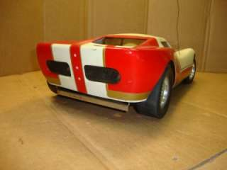 HeathKit RC Ford GT40 race car Rare Vintage Max OS .19 1/8 scale