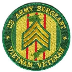 US Army Sergeant Vietnam Veteran Patch