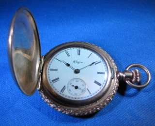 1894 ELGIN National Watch Co Jeweled 14K GOLD Filled Small Pocket