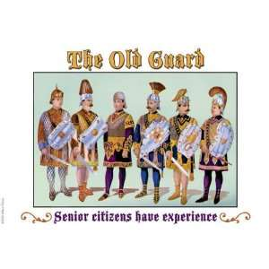 Guard   Senior Citizens Have Experience 20x30 poster: Home & Kitchen