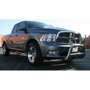 11 Dodge Ram 3500 Crew Cab Bull Bar 3Inch With Stainless Skid Grille