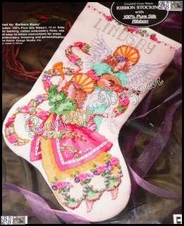 Embroid Counted Cross Stitch Christmas Stocking Kit  Baatz