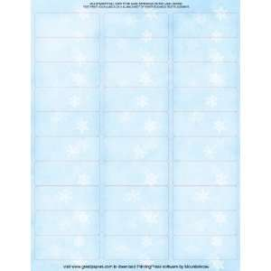Winter Flakes Address Labels Arts, Crafts & Sewing