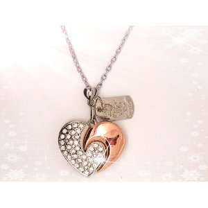 High Quality 8 GB Heart Crystal Jewelry USB Flash Memory Drive