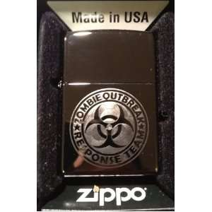 Custom Lighter   Biohazard Toxic Seal Zombie Outbreak Response Team