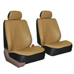 FH PU002102 Classic Synthetic Leather Bucket Seat Covers