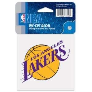 Los Angeles Lakers 4x4 Die Cut Decal