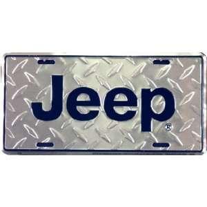 JEEP Diamond Metal License Plate *SALE*
