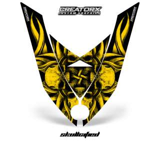 SKI DOO REV XP SNOWMOBILE SLED GRAPHICS KIT DECAL SFYFY