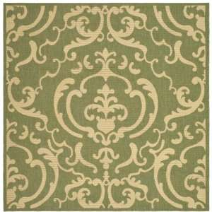 Safavieh CY2663 1E06 8SQ Courtyard Collection 7 Feet 10
