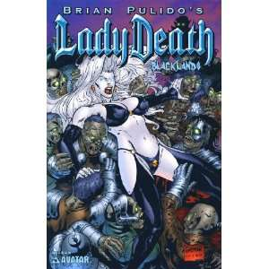 Lady Death Blacklands (2006) # 3/A: Books