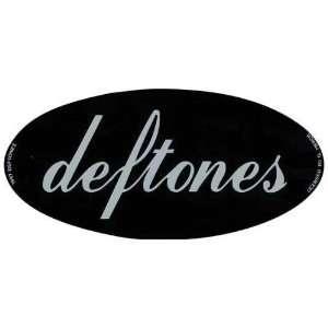 Deftones   Oval Logo   Decal   Sticker Automotive