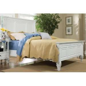 Magnussen 71960 Ashby Patina White Finish Queen Panel Bed