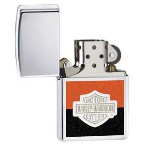 Zippo Harley Davidson High Polish Chrome Lighter Health