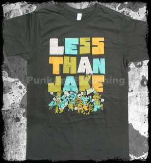 Less Than Jake   Riot  punk rock ska   official t shirt   FAST