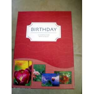Birthday Cards W/Scripture (Natures Friends): Health & Personal Care