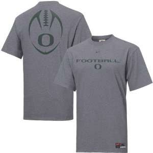 Nike Oregon Ducks Slate Team Issue T shirt: Sports & Outdoors