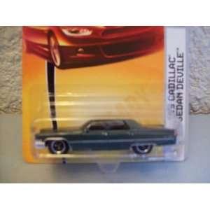 Matchbox Heritage Classics Green 1969 Cadillac Sedan