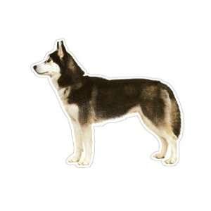 SIBERIAN HUSKY   Dog Decal   sticker dogs car got gift