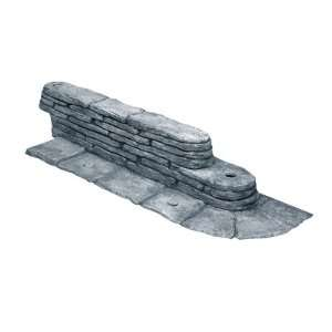 Emsco 2032DS Bedrocks Trim Free Resin Lawn Edging   Slate