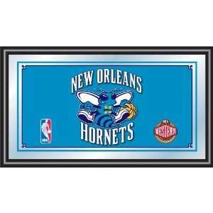 New Orleans Hornets NBA Framed Logo Mirror Sports