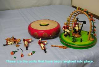36 note Reuge Mozart Concert Music Box See Video + Hear it Play