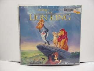 WALT DISNEYS THE LION KING LETTERBOXED LASER DISC