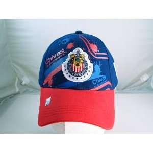 CHIVAS de GUADALAJARA OFFICIAL TEAM LOGO CAP / HAT   CV013