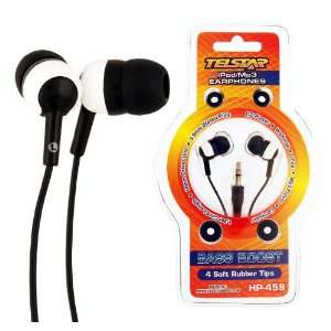 Telstar Hp 459 Sound Isolation Earphones, High Quality Sound