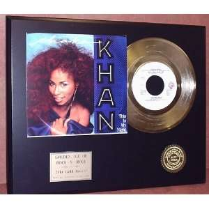 Gold Record Outlet Chaka Khan 24kt Gold Record Display LTD