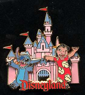 DISNEYLAND LILO AND STITCH PIN STORE ONLY ITEM L@@K