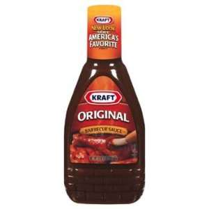 Kraft Original Squeeze Bottle Barbecue Sauce 18 oz