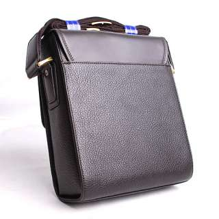 New POLO Mens PU Leather Shoulder bag Messenger Bag Briefcase Bag