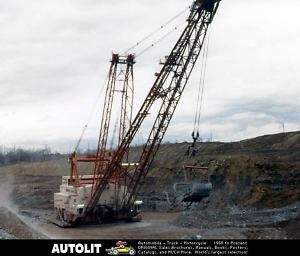 1975 ? Central Ohio Coal Dragline Crane Photo