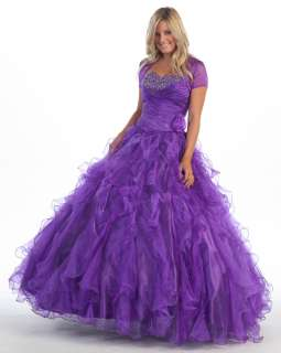 Beautiful Quinceanera Sweet 16 Dress New Formal Gowns
