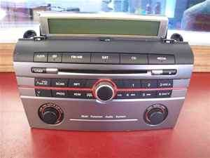 2008 Mazda 3 CD Player Radio BAP566AR0 OEM LKQ
