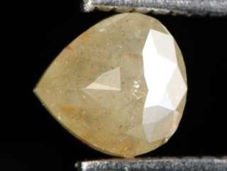 94ct Nice Tear Drop Rose Cut Natural Polished Diamond