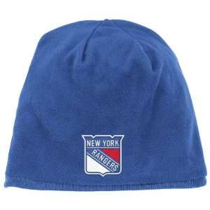 New York Rangers Blue Game Day Reversible Knit Hat Sports