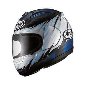 Randy Full Face Motorcycle Riding Race Helmet   Randy Blue Automotive