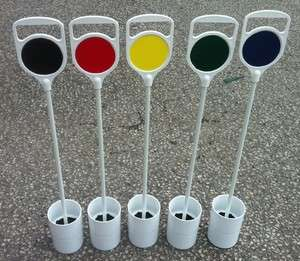 Golf Putting Green Flag and Cup.Ideal Christmas or Birthday Present
