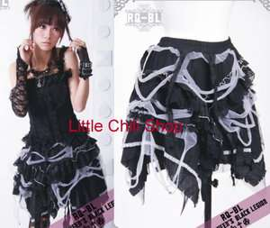 GOTHIC TREND* Cosplay Nana Kera Shop PUNK Rock Lolita Mini FRAG SKIRT