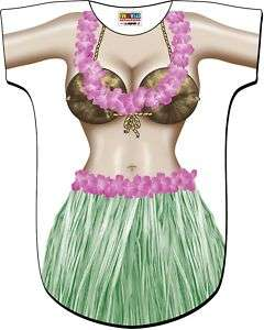 Halloween Costumes Hawaii Hula Girl Bikini T Shirt New |