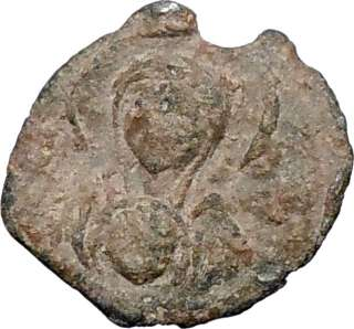 & JESUS CHRIST Authentic Ancient Genuine Byzantine 8th CENTURY Seal