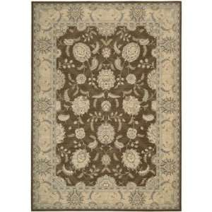 Nourison 25401 Persian Empire Medium Rug Rug   Chocolate