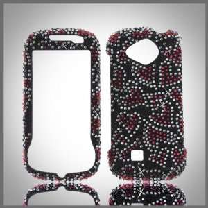 on Black Cristalina crystal bling case cover for Samsung Reality