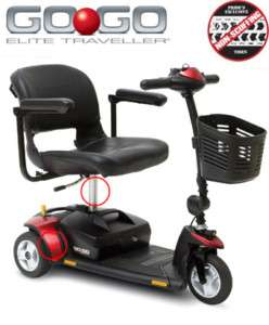 Pride Go Go Elite Traveller Electric Mobility Scooter