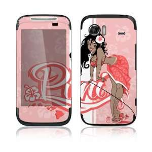HTC Mozart Decal Skin Sticker   Puni Doll Pink
