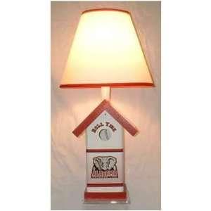 Bird U Alabama Crimson Tide Bird House Lamp Sports